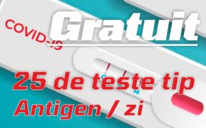 Teste Rapide tip Antigen GRATUIT pentru copii